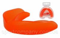 Капа боксерская Power Play 3305 (взрослая, оранжевая)