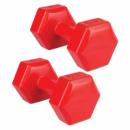 Гантели NUUI NISOS 2х2 кг Красный (nu004)