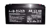 Гелевый аккумулятор Alva AS12-60Ач