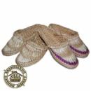 Лапти плетеные, рогоза (38-40 р.)