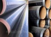 Труба 219мм стальная в весьма усиленной битумно полимерной гидроизоляции