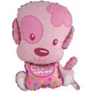 Шар фольгированный щенок девочка 67 см