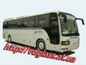 Лобовое стекло для автобусов Mitsubishi MF-715 Prenses в Никополе
