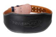 Пояс для важкої атлетики PowerPlay 5086 Чорно-Коричневий XS