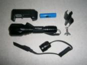 Подствольный фонарь Police Power Style BL - QC 10 на светодиоде T6 на 25 000W