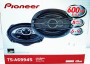 Колонки (динамики) Pioneer TS-A6994S (600Вт) пятиполосные
