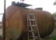 Гидропескоструйная обработка бензинового бака