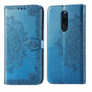 Кожаный чехол (книжка) Art Case с визитницей для Xiaomi Redmi 8 Синий