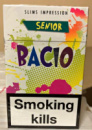 сигареты Басио слимс,Bacio slims impression