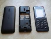 Корпус для телефона Nokia 130 черный