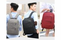 Рюкзак с USB выходом, сумка, пенал. Набор 3в1.