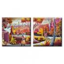 Картина Диптих Exotic