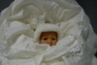 конверт одеяло для новорожденного зимний