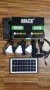 Аккумуляторный фонарь солнечная батарея 3 LED лампы