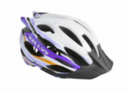 Шолом KLS Dynamic S-M 54-58 см White/Purple