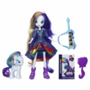 My Little Pony Equestria Girls Rarity Doll and Pony Set Rainbow Rocks, Девушки Эквестрии Рерити
