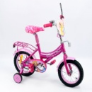 Велосипед 12« детский 151222 со звонком, зеркалом