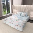 Комплект постельного белья Satin KWL-1953-A-B Семья