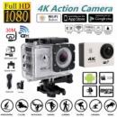 Action camera 4K SPORTS Ultra HD DV WiFi (White)