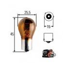 Автомобильная лампа PY21W 24V BAU 15s