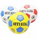 М«яч футбол. лакований »OFFICIAL MIX« (4-ох шарове покрит., латексна камера)