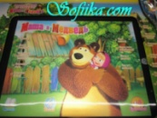 3D Интерактивный планшет «Маша и Медведь»