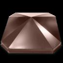 Колпак восьмиугольный на столб