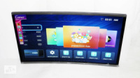 Телевизор Comer 32« Изогнутый LCD LED Smart TV, WiFi, 1Gb Ram, 4Gb Rom, T2, USB/SD, HDMI, VGA, Android 4.4