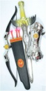 Набор рыцаря 6652 А (60) меч, лук, доспехи, в кульке