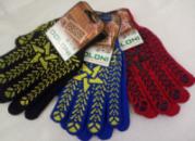 Перчатки тканевые ЗВЕЗДА (цвет в ассортименте)
