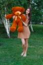 Мишка Тедди 100 см коричневый