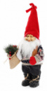 Новогодняя мягкая игрушка «Санта в свитере» 22х15х45см