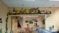Художественная роспись стен магазина