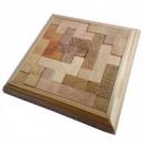 Деревянная головоломка Круть Верть Рог Изобилия 2х15.5х15.5 см (nevg-0003)