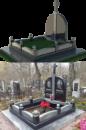 Двойное надгробие №5