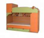 Двухъярусная кровать Винни 1
