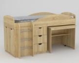 Детская кровать Универсал (двухъярусная)