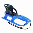 Санки KHW Kunststoff Snow Tiger comfort, голубой (29415)