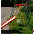 Спорткомплекс «Подрастайка » высота 180 см для улицы из железа для дачи квартиры базы отдыха детской площадки