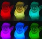 Мини светильник Дед Мороз (меняет цвета подсветки)