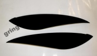 Реснички на фары Daewoo Lanos тип 2