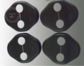 Накладка на петли KIA ( на двери, 4шт в комплекте )