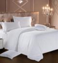 Комплект постельного белья Love You Страйп-сатин «Белый 1» Евро