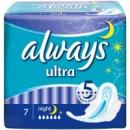 Прокладки Always Ultra Night 6 капель (7шт)
