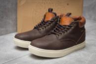 Зимние мужские ботинки 30113, Timberland Groveton, коричневые ( 46  )