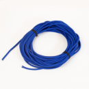 Жгут спортивный резиновый в тканевой оплетке ( резина, d-8 мм, I-300 см, синий ) rez.blu8