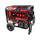 Генератор бензиновый макс. мощн. 6 кВт., ном. 5.5 кВт., 13 л.с., 4-х тактный, электрический и ручной пуск, комплект коле