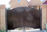 Ворота распошныее и калитка (вр-3)
