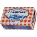 Масло сладкосливочное «Селянське» 82% 200г