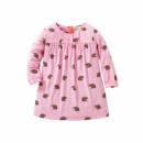 Платье для девочки Ежик
